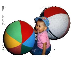 Balón de texturas