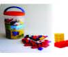 Bloques encajables 206 piezas