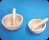 Mortero de porcelana